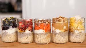 Meals In A Jar by Overnight Oatmeal 5 Delicious Ways Youtube