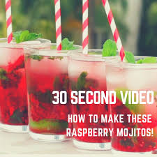 raspberry mojito recipe blog homepage lake life muskoka