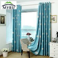 Cheap Turquoise Curtains Myru High Quality Baby Curtains Childrens Cheap Blackout Curtains