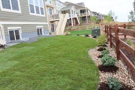 back yard landscape arvada colorado landscape landscape company