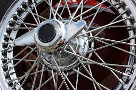 free photo classic car wire wheel locknut free image on