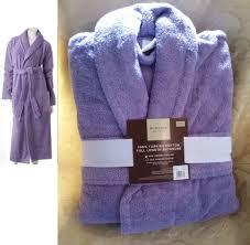 Full Length Bathrobe 100 Turkish Cotton Robe Purple Full Length Terry Cloth Sonoma Spa