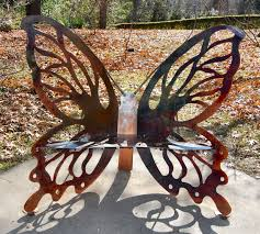 Butterfly Bench A Site For Sore Thighs Hometown By Handlebar