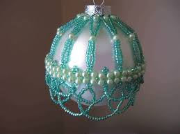 325 best beaded ornaments images on beaded ornaments