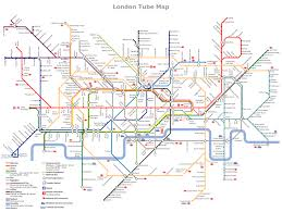 Metro La Map Variant Of London Underground Map M E T R O M A P S