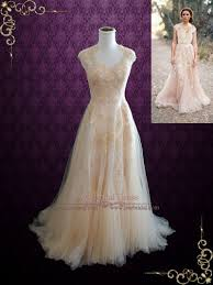 whimsical wedding dress blush whimsical lace wedding dress korynne ieie bridal