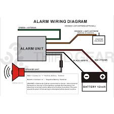 12v motorcycle compact diy alarm system third gear