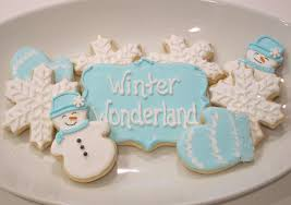 winter wonderland cookies shake bake and party