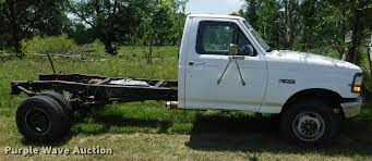 1994 ford f450 super duty xl cab and chassis item ca9614