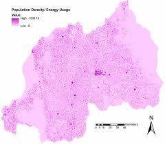 Rwanda Map Igniting The Power Grid In Rwanda Using Nasa Earth Observations