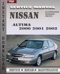 nissan altima 2001 2002 service repair