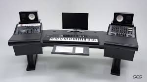 recording studio workstation desk scs signature mod studio desks youtube