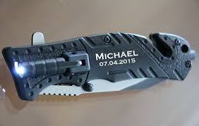 knives for groomsmen groomsmen knives personalized led assisted knife