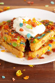 ihop halloween cooking fruity pebble french toast video how to fruity pebble