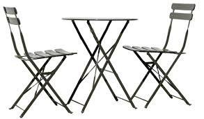 Black Metal Bistro Table Garden Outdoor Best Bistro Table And Chairs For Home Furniture
