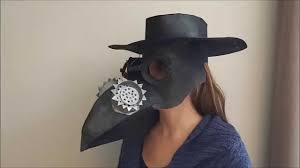 plague doctor hat how to make a cardboard plague doctor mask