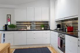 white kitchen set furniture amusing detail oriented scandinavian condo sparkles in light