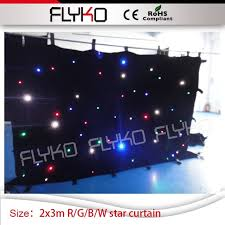 wedding backdrop size customized size 7ft 10ft led curtain nightclub stage led