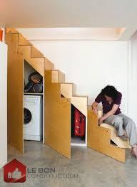 Placard Sous Escalier Avec Tablettes Comment Exploiter Les Espaces Sous Les Escaliers
