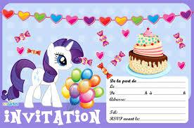 invitation anniversaire rarity 123 cartes