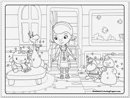 doc mcstuffins christmas coloring pages funny coloring