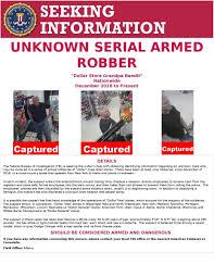 t harger icones bureau fbi indianapolis on dollar store bandit arrested