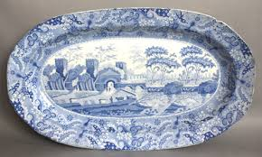 the spode collection early blue and white wares
