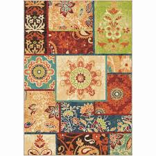 Impressions Rugs Orian Rugs Bright Color Geometric Nabalis Multi Texture Area Rug