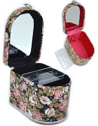 Vanity Makeup Box Shop Planta Rakuten Global Market Make Up Box Madam Rose Black