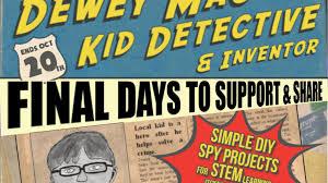 dewey mac kid detective book make diy u0026 stem spy gadgets by