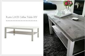 lack ikea ikea lack rustic coffee table diy ikea hackers