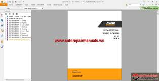 case wheel loaders 721e service manual auto repair manual forum