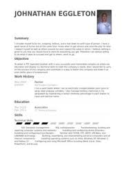 Credit Controller Resume Sample by Apprentice Electrician Resume Sample Job Search Strategies