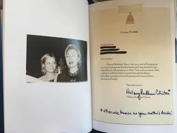 til hillary clinton wrote a happy birthday letter to amy