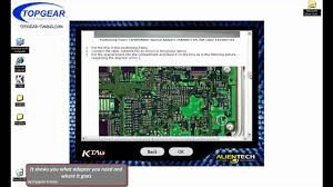 ktag reading demonstration on a denso ecu youtube
