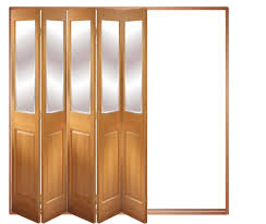 Pine Bifold Closet Doors Bifold Closet Doors With Glass Inserts