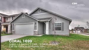 cbh homes coral 1699 3 bed 2 bath 2 car garage bonus on