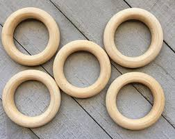 large wooden rings etsy