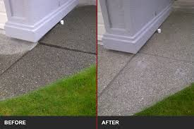 concrete driveway sinking repair slabjacking concrete corrections