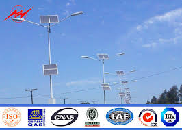 utility pole light fixtures double arm 40w 80w led commercial outdoor light poles wind proof