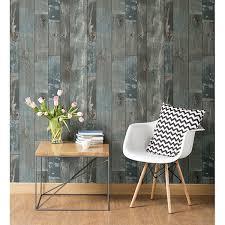 2540 24053 deena blue distressed wood wallpaper by a street