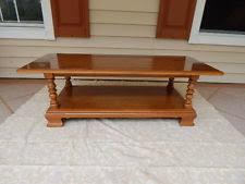 Ethan Allen Coffee Tables Ethan Allen Solid Wood Tables Ebay