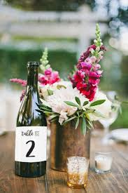 gold wine bottle table numbers wedding table numbers wine bottle labels place cards event no 1