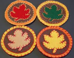 sewchic easy autumn felt crafts