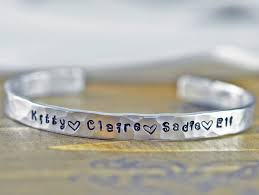Personalized Children S Jewelry Personalized You Are My Sunshine Bracelet Hand Stamped Jewelry
