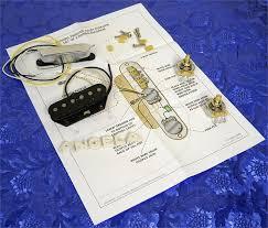 fender twisted tele pickups set 0992215000