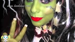 frankie stein monster high makeup cosplay halloween pics youtube