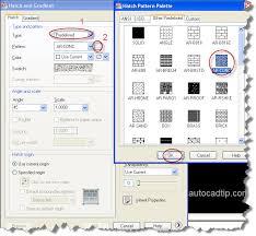 tutorial autocad hatch hatch command tutorial in autocad 2012