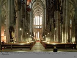 Cologne Cathedral Interior Gothic Art