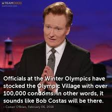 Bob Costas Meme - joke officials at the winter olympics have stocked the